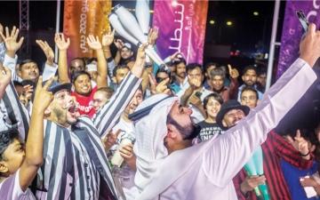 الصورة: الصورة: شخصيات في أم القيوين: نجاح دبي نجاح للإمارات