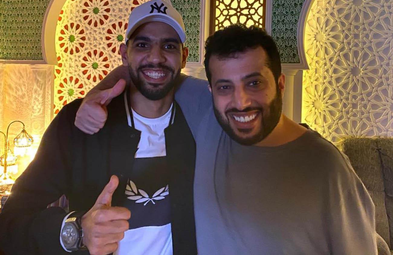 تركي آل الشيخ يتحمل تكاليف علاج مؤمن زكريا لاعب الأهلي البيان