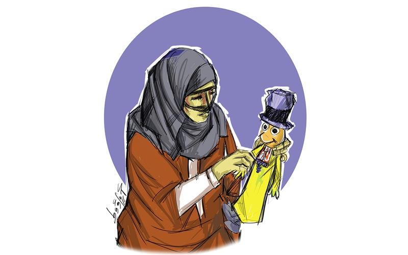 الصورة: الصورة: الدمى الشعبية..  مهنة الجدات في زمن الطيب