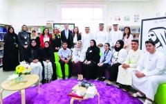 الصورة: الصورة: دبي تقيس جودة حياة 100 ألف طالب و20 ألف معلم في المدارس الخاصة