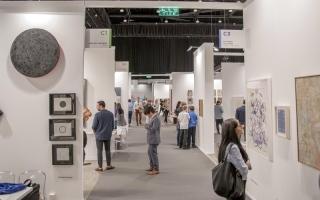 الصورة: الصورة: «فوربس»: «آرت دبي» أحد أبرز  المعارض الفنية عالمياً