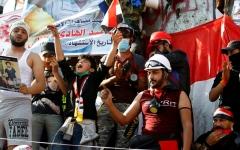 الصورة: الصورة: 4 مطالب رئيسية في وجه عبد المهدي