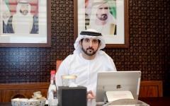 الصورة: الصورة: حمدان بن محمد: دبي مركز عالمي لمدن المستقبل والاستدامة المعلوماتية