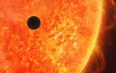 الصورة: الصورة: تفاصيل عبور كوكب عطارد أمام الشمس في دبي