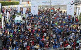 الصورة: الصورة: كرنفال تحدي دبي للجري يزين صباح دانة الدنيا