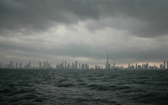 الصورة: الصورة: الأرصاد: تكون السحب الركامية مصحوبة بأمطار حتى 7 مساء