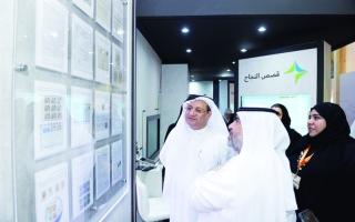 الصورة: الصورة: «صحة دبي» حاضرة في معرض الشارقة للكتاب بمصادرها المعرفية