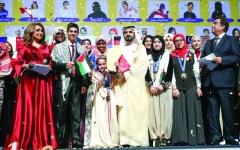 الصورة: الصورة: محمـد بن راشد: نحن أقوياء بشباب عربي قارئ يؤمن بقوة الحرف والكتاب