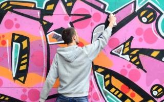 الصورة: الصورة: «الفن الحضري» يدشن عصر فنون الشارع في المنطقة