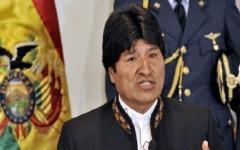 """الصورة: الصورة: الرئيس البوليفي يستقيل بعد احتجاجات وينتقد """"الانقلاب"""""""