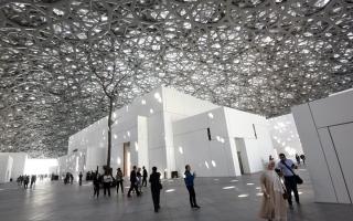 الصورة: الصورة: اللوفر أبوظبي يستقبل مليوني زائر منذ افتتاحه