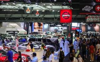 الصورة: الصورة: «دبي للسيارات» يفتح نافذة على مستقبل التنقل