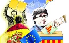 الصورة: الصورة: كتالونيا وإسبانيا وأوروبا.. أفضل «معاً»