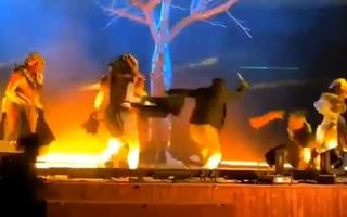 4 حالات طعن بمنتزه الملك عبدالله في الرياض