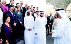 الصورة: الصورة: محمد بن زايد: مواقف زايد وشيراك رسخت علاقات الإمارات وفرنسا