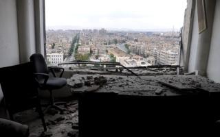 الصورة: الصورة: مقتل ابن قيادي في حركة الجهاد الإسلامي الفلسطينية في غارة على دمشق