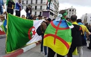 الصورة: الصورة: السجن عاماً لـ21 شخصاً رفعوا الراية الأمازيغية بالجزائر