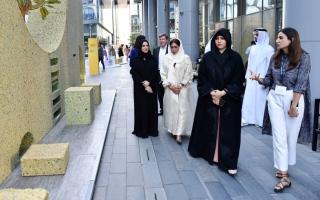 """الصورة: الصورة: لطيفة بنت محمد تفتتح النسخة الخامسة من """"أسبوع دبي للتصميم"""""""
