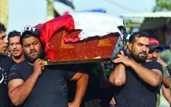 الصورة: الصورة: «العدل العراقية» تأسف لسقوط قتلى وناشطون يحذرون