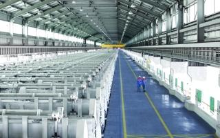 الصورة: الصورة: الطاقة الإنتاجية للشركة تضاعفت ألفي مرة في 40 عاماً