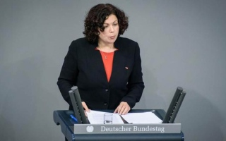 الصورة: الصورة: مصرية على رأس الكتلة البرلمانية لحزب اليسار الألماني