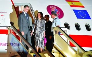 الصورة: الصورة: ملك إسبانيا يبدأ زيارة تاريخية لكوبا وسط انتقادات