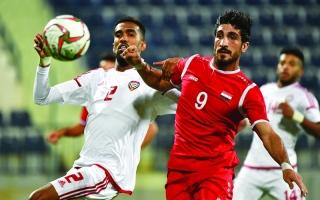 «الأولمبي» يتفوق على سوريا في كأس دبي