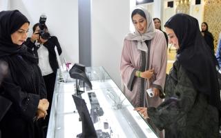 الصورة: الصورة: منى المرّي: دبي مركز عالمي رئيس للمبدعين والمبتكرين