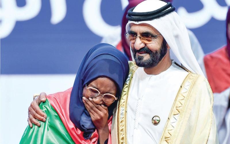 الصورة: الصورة: محمد بن راشد: العرب الفائز الحقيقي بـ 13.5 مليون مشروع أمل
