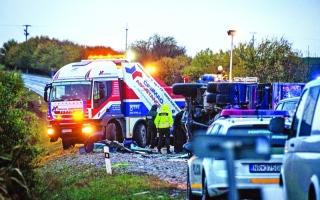 الصورة: الصورة: 13 قتيلاً بحادث سير في سلوفاكيا