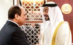 الصورة: الصورة: محمد بن زايد: علاقاتنا مع مصر تاريخية واستراتيجية