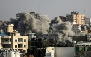 الصورة: الصورة: وقف إطلاق النار في غزة برعاية مصرية