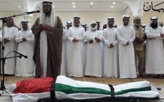 الصورة: الصورة: رأس الخيمة تشيع جثمان الشهيد طارق البلوشي