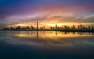 الصورة: الصورة: توقعات الطقس ودرجات الحرارة في الإمارات غداً