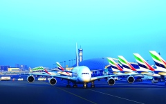 الصورة: الصورة: «طيران الإمارات» تنقل 6500 مشارك في ندوة بدبي