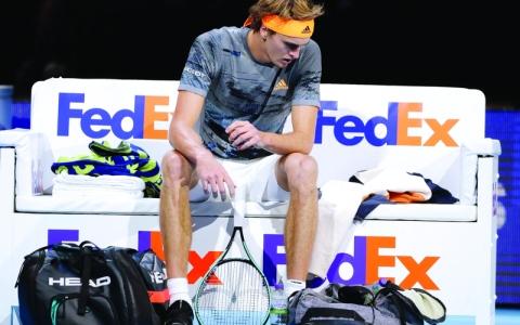 الصورة: الصورة: هاتف زفيريف يُثير أزمة في التنس
