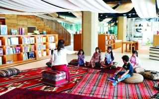 الصورة: الصورة: فعاليات ثقافية وعروض أدائية مميزة في المجمّع الثقافي