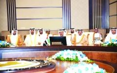 الصورة: الصورة: الإمارات تشارك بالاجتماع الوزاري للجنة التعاون التجاري الخليجي