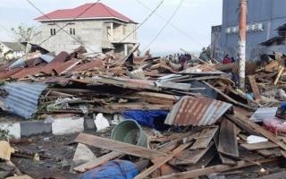 الصورة: الصورة: زلزال بقوة 7.1 درجات يضرب إندونيسيا
