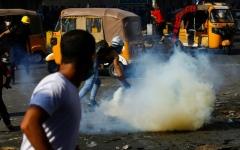 الصورة: الصورة: قتيلان وعشرات الجرحى بتظاهرات «جمعة الصمود» في العراق