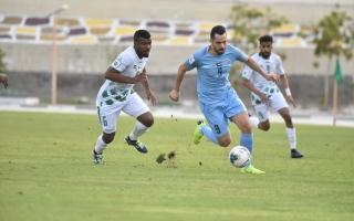 الصورة: الصورة: مسافي يشكو حكم مباراة دبا الفجيرة
