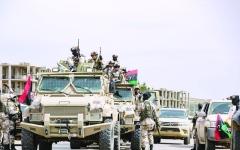 الصورة: الصورة: الجيش الليبي يأسر مرتزقة أجانب في طرابلس