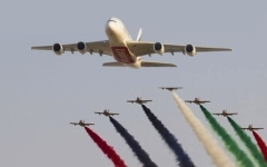 الصورة: الصورة: تلفزيون دبي يواكب معرض الطيران
