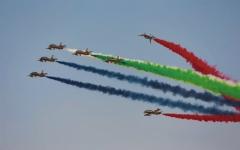 الصورة: الصورة: مباشر.. معرض دبي للطيران ينطلق وسط حضور جماهيري كبير