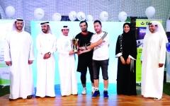 الصورة: الصورة: مهرجان رياضي ناجح لـ«دبي للإعلام» في «تحدي دبي»