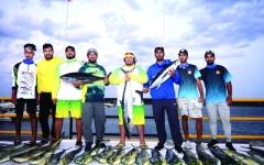 الصورة: الصورة: «سكمكم» بطل دولية الفجيرة لصيد الأسماك