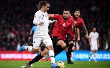 الصورة: الصورة: غريزمان يقود فرنسا للفوز على ألبانيا في تصفيات يورو 2020