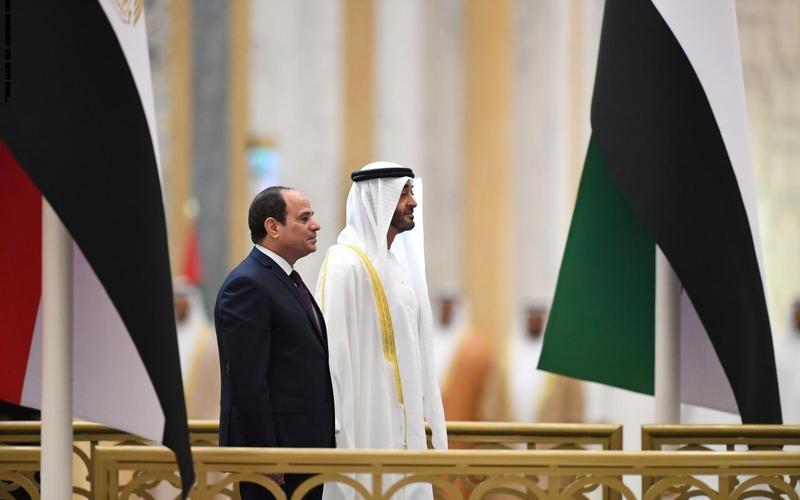 الصورة: الصورة: الإمارات ومصر تقيّمان مشروعات المنصة المشتركة