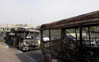 الصورة: الصورة: حملة أمنية قاسية في وجه الاحتجاجات بإيران