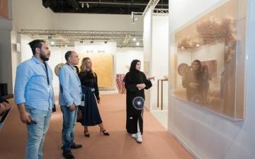 الصورة: الصورة: «فن أبوظبي 11» ينطلق الخميس بمشاركة 50 صالة عرض من 21 مدينة عالمية